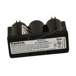 Batteria Lifefitness, Star Trac, Cybex 6V 2,5 Ah Compatibile per la Maggior parte delle Marche