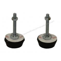 Fuß Gleichmacher Gummi M10 50-120 Kg