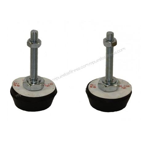 Foot Leveller Rubber M10 50-120 Kg