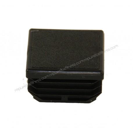 Amortecedor Protetor Plástico Interno Quadrado de 25X25Mm - 4Uni.