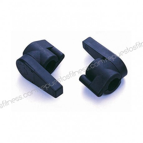 Tope abrazadera para barras estandars - 25 mm a 27 mm - muscle clamp