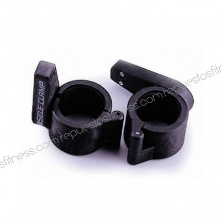 Anschlag, klemme für stäbe olympische - 50 mm - muscle clamp