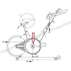 Rodamiento Cojinete Eje Pedalier M3, M3I Spinning