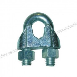Sujetacables galvanizado cable 4-5 mm