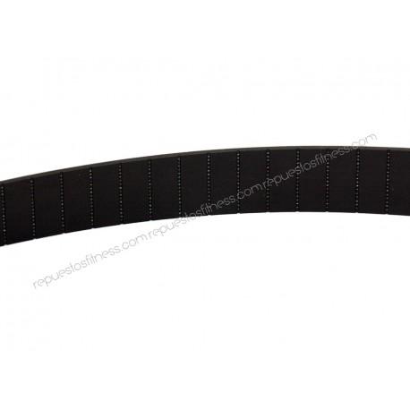 Sangle en caoutchouc 25 mm Kevlar pour machine de musculation de gimnases - Vendu au mètre,