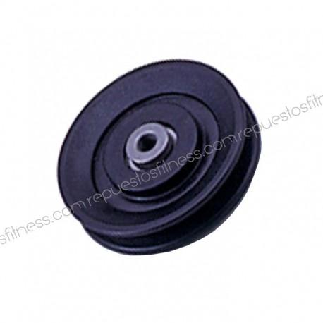 Polea 25,5 mm de ancho 90 mm de diámetro exterior para ejes de 10 mm