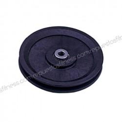 Poulie a une 25,5 mm de large, 127 mm de diamètre extérieur pour axe de 10 mm