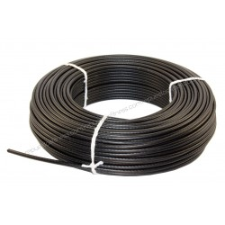 25 meters cable steel plastic Ø6 mm of thickness for gym equipment