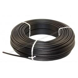 25 mètres de câble en acier plastifié de 6 mm pour appareils de musculation et de fitness.