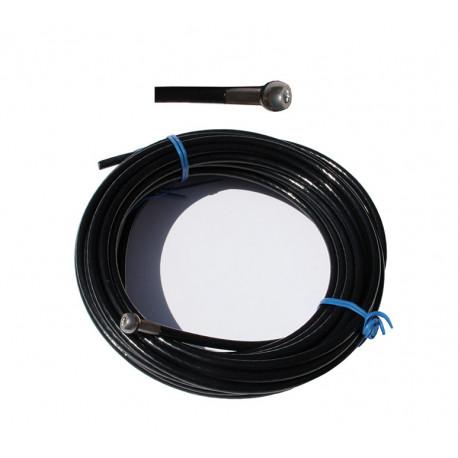 Cable de 5mm punta caña de bola - varios largos