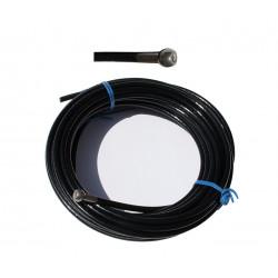 Kabel 6 mm mit einem ende in der spitze der kugel gepresst - mehrseillängenrouten