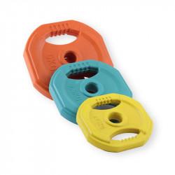 Discos Body Pump 30mm - Goma Colores - Varios Pesos