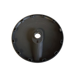 Protective pulley Ø137mm with slot - 12 pins female - type Technogym Selection interior