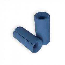 Casal suportes para barras 13cm longo - Ø5,7cm