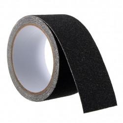 Cinta antideslizante antiderrapante autoadhesiva negra 5cm a metros