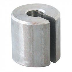 Sujetacable geöffnet, um kabel oder spitzen kugel Ø4,7mm, bis Ø6,3mm