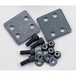 Abrazadera bloqueadora para fijacion de correa kevlar hasta 25mm