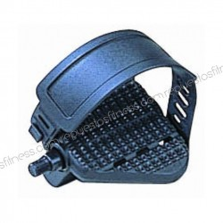 """Pédales de vélo statique vertical recumbent - Fil Ø1/2"""" (Ø12,7 mm) - couleur noir - la paire"""