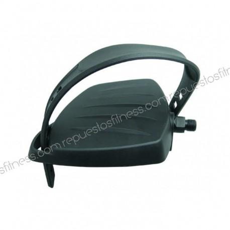 "Pair pedals upright bike recumbent - thread Ø9/16"" (Ø14,3 mm) - color black"