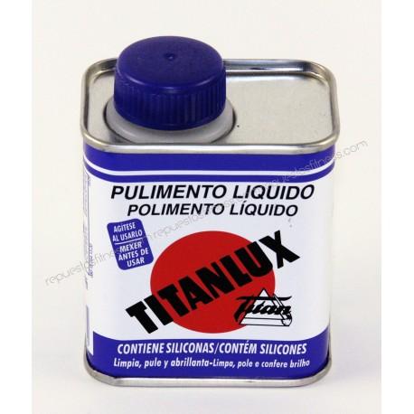 Lustrador Titan 125 ml (renova, límpia, lustra, abrillanta, protege)