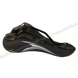 10 Uni. - Saddle spinning Mg Trek Argo Skay 280X160Mm Black Antiprostático