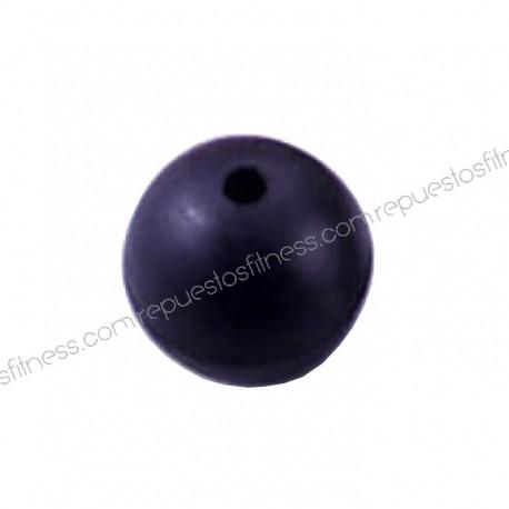 Bola/pelota freno goma/caucho Ø4,5cm - agujero de 6.3mm int