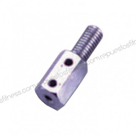 "Terminal cable chrome rosca 1/2"" hexagonal"