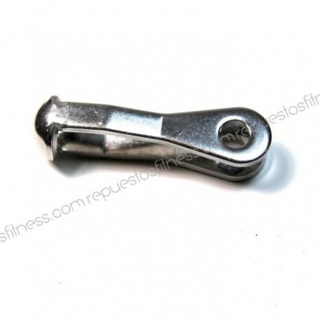 Klemme für kabel - edelstahl - länge 65 mm