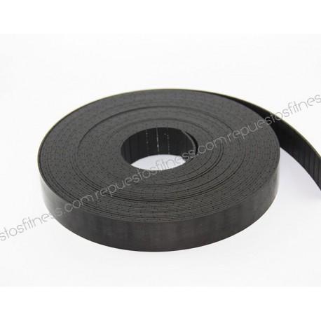 10m - correia de Kevlar de 20 mm com fios de aço