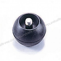 Ball bumper-end of handle