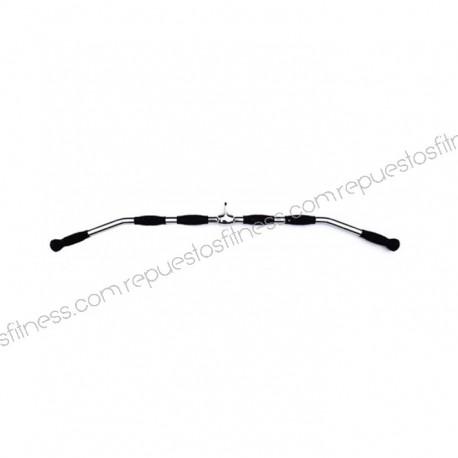 Barra dorsal giratoria - 120cm - solida - ergo
