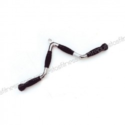 Straight bar/curved solid biceps - 70cm - ergo