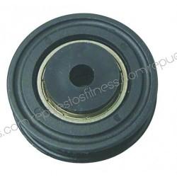 Polia 22 mm de largura 51,3 mm de diâmetro exterior, para eixos de 8 mm