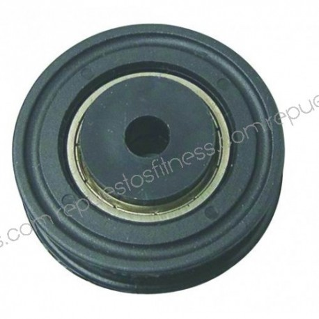 Pulley 22 mm 51,3 mm outer diameter for shafts 8 mm