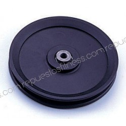Pulley 25.4 mm, width 151 mm of outer diameter to axis of 10 mm