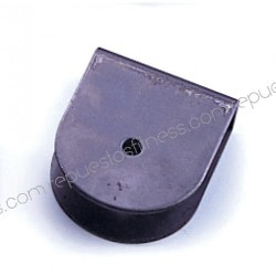 Soporte polea de 25,4mm de ancho de 75 mm de diámetro máximo para ejes de 8.5mm