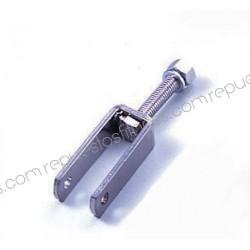 Soporte polea max Ø101mm - ancho 25,4mm - agujero Ø9,6mm