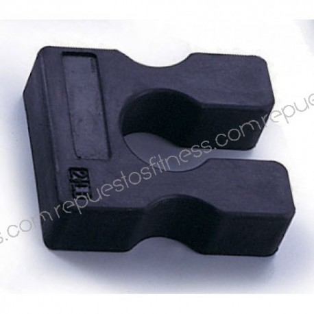 Weight extra rubber 1kg for attaching to weight machines