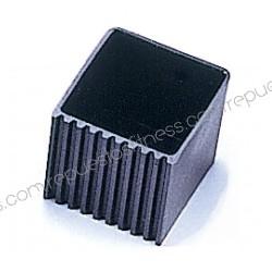 Pie protector cuadrado de 50,8 x 50,8 mm de PVC