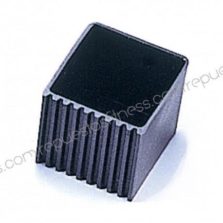Cubierta/tapón de plástico para tubo cuadrado de 50,8 x 50,8 mm
