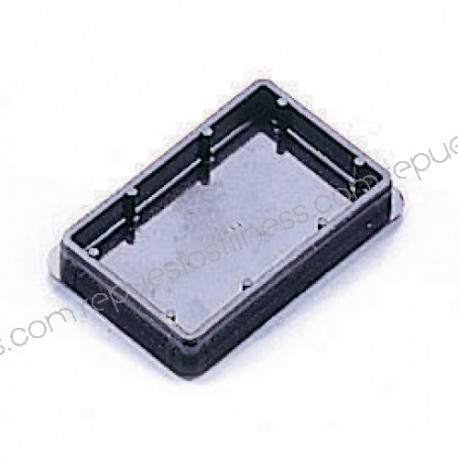 Capuchon en plastique pour tube rectangulaire de 76,2 x 50,8 mm
