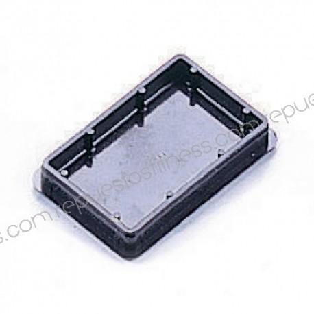 Tapón de plástico para tubo rectangular de 76,2 x 50,8 mm