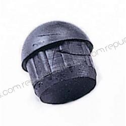 Tapón terminal de goma cauhco redondo para tubo de Ø41,27mm