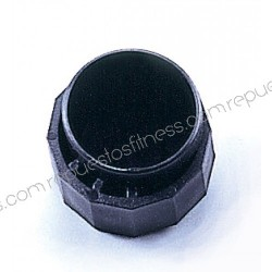 Plug the round adjustable height for tube 50.8 mm