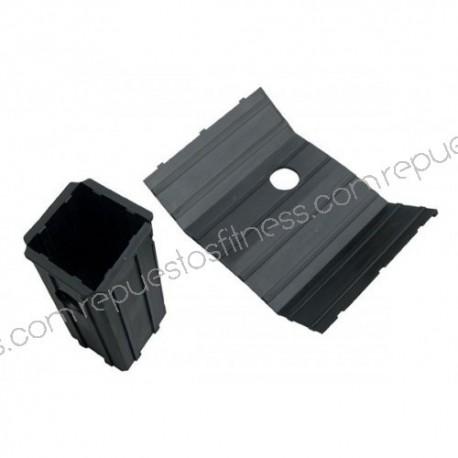 Camisa dobrável para tubo quadrado interior de 38,1 mm - exterior 51mm