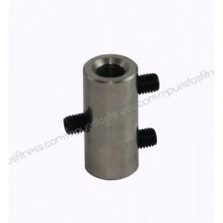 Anello di fissaggio in acciaio inox per cavo Ø6mm