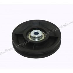 Puleggia 27,5 mm 96,5 mm di diametro esterno per asse 10 mm
