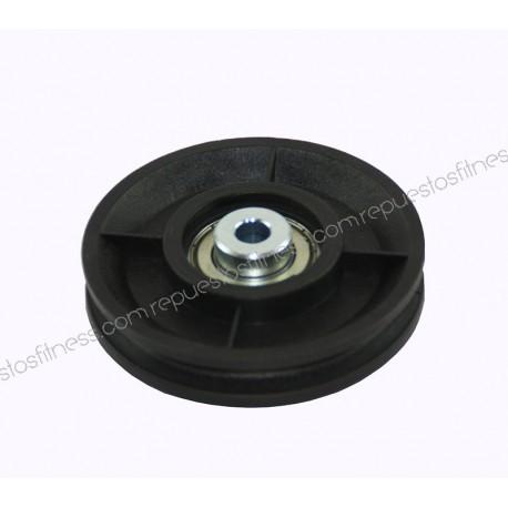 Polea 27,5 mm de ancho 96,5 mm de diámetro exterior para ejes de 10 mm