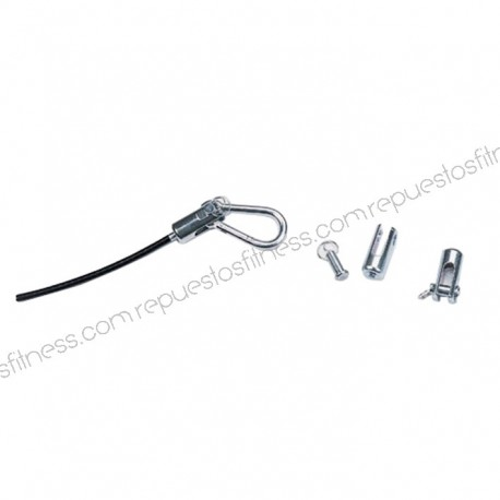 "Terminal enganche para cable 1/8"" (3,175 mm)"