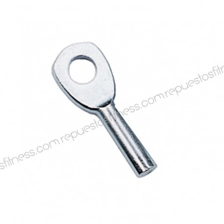 Eye marine zinc plated, for cable Ø3,175 mm without laminate